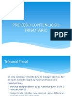 Proceso Contencioso Tributario