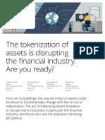 Deloitte the Tokenization of Assets Disrupting Financial Industry