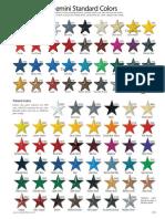 Gemini Standard Colors