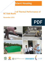 Eenergy Efficient Housing Report Improvement of Thermal Performance of Rc Slab Roofs 2