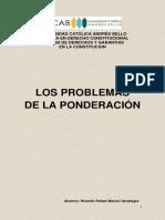 Los Problemas de La Ponderacion (Definitivo)