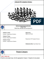Assignment 02 Project SRS Presentation Template V1.0 Fall 2019 FinaL
