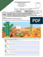 evaluación hábitat para segundo básico