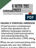 Midterm Challenges of Intercultural Communication