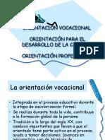Orientación Vocacional y Profesional