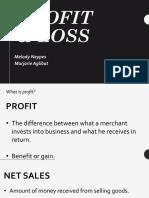 Profit & Loss BM ppt