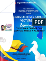 Orientaciones Pedagogicas 2019-2020 Aragua