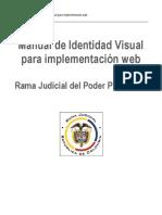Identidad visual para implementacion web