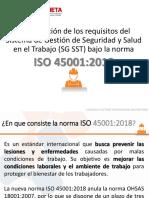 CAPACITACIÓN ISO 45001-2018