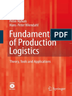 Fundamentals of Production Logistics - Theory, Tools and Applications_3540342109