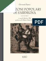 Canzoni Popolari Vol. I - Sardegna Cultura