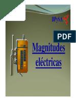 Magnitudes Electric As
