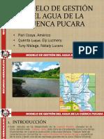 Modelo de Gestión Del Agua de La Cuenca Pucara