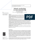 Islamic Marketing as Macromarketing