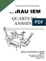 Poster 2 Quarteto Anshin