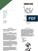 Programa Quarteto Anshin 26-10-2019