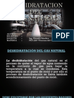 Deshidratacion Del Gas Natural