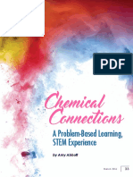 Chemical Connections a Problem Based Learning Stem Experience