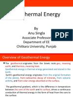 Geothermal Energy NCES