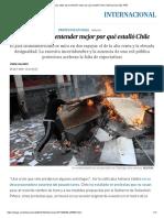 Los Datos Para Entender Mejor Por Qué Estalló Chile _ Internacional _ EL PAÍS