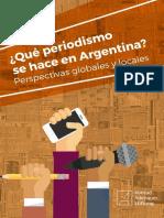 Que Periodismo Se Hace en Argentina