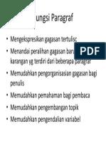 fungsi paragraf