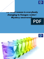 For what reason is everybody changing to Kangen water? Mystery uncovered!