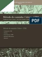 Método Do Caminho Crítico - CPM 1ª Versão