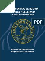 Estados Financieros Gestion 2018