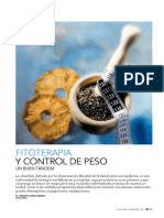 Fitoterapia Control de Peso