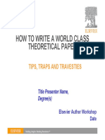 How to Write a World Class Paper (THEORETICAL).pdf