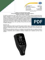 Medidor de Espesor Pce-ct26 Fn