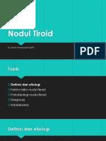 nodul tiroid