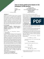 DSS.rq3.Dmd Short Term Prediction of Stock Market Price Based on GA Optiminzation LSTM Neural Linx18