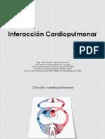 Interacción cardiopulmonar