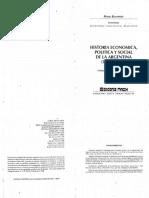 Historia económica política y social de la Argentina. Selección contexto internacional