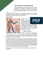 Evolución Historica de La Medicina Legal