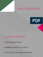 NIHSS Assessment