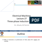 Lecture 27 Induction Motor