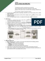 3 Data File Handling