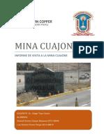 Viaje Mina Cuajone 2019