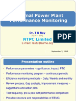 Thermal Power Plant Performance  Monitoring