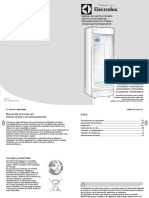 Electrolux Visicooler Refrigerador Vitrina
