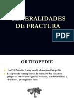 generalidades de fractura