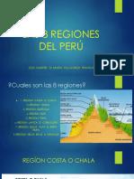 Las 8 Regiones Del Perú