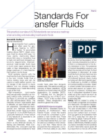 ASTM Standards for Heat Transfer Fluids