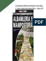 Albañileria y Mamposteria