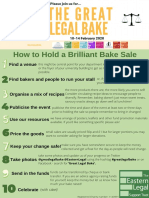 guide- how to hold a brilliant bake sale 2020