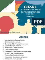 Oral Communication Lec1