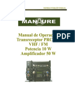 Manual del Radio PRC-2188 Manaure